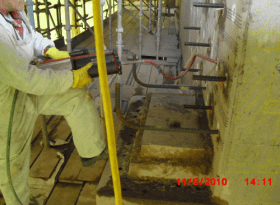 Rebar Reinforcement Using HIlti Resin