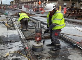 Diamond Drilling Edinburgh Trams Project