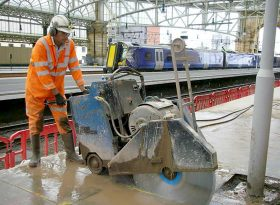 Concrete Cutting Projects Glasgow Central Station