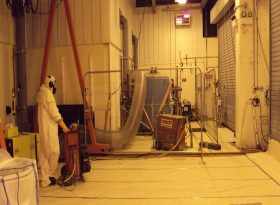 Nuclear Decommissioning Dry Diamond Wiresaw