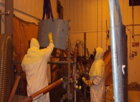 Nuclear Decommissioning Dry Diamond Wiresaw Project