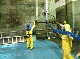 Remote Deployment Frame Underwater Cutting